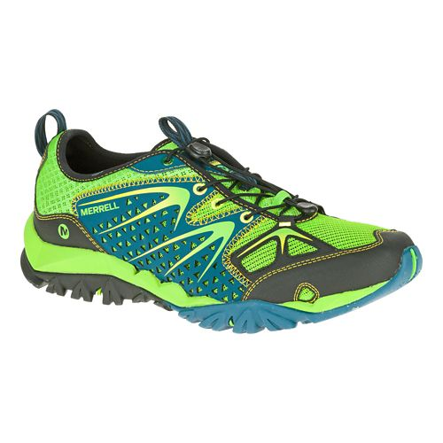 Mens Merrell Capra Rapid Hiking Shoe - Bright Blue 8.5