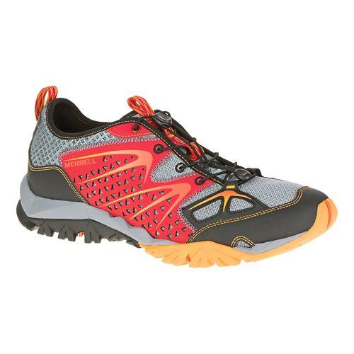 Mens Merrell Capra Rapid Hiking Shoe - Bright Red 8.5
