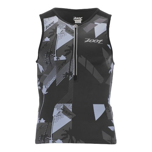 Mens Zoot Ultra Tri Sleeveless & Tank Technical Tops - Ultra Black L