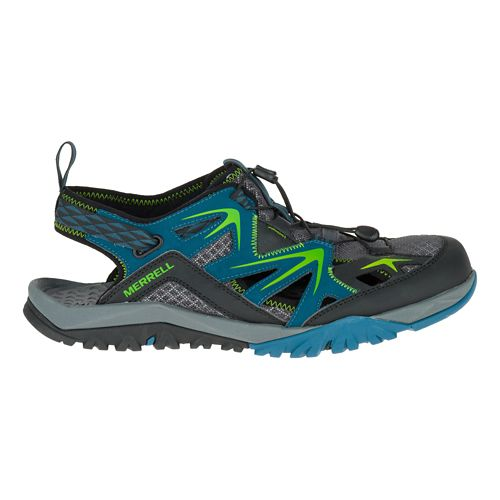 Mens Merrell Capra Rapid Sieve Hiking Shoe - Bright Blue 10.5