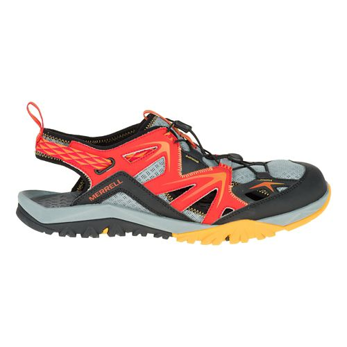 Mens Merrell Capra Rapid Sieve Hiking Shoe - Bright Red 8
