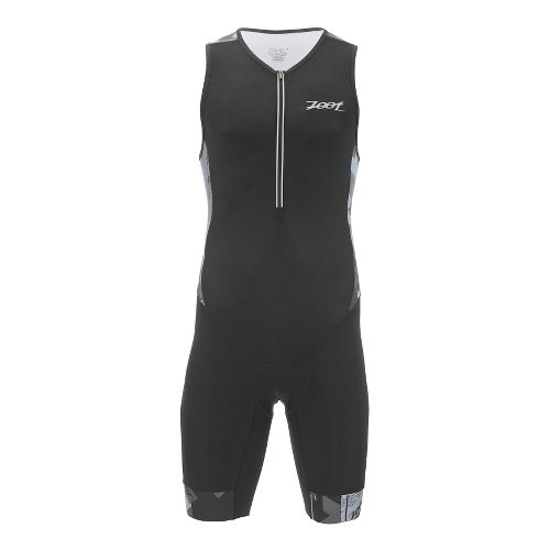 Mens Zoot Ultra Tri Racesuit Triathlon UniSuits - Ultra Black L