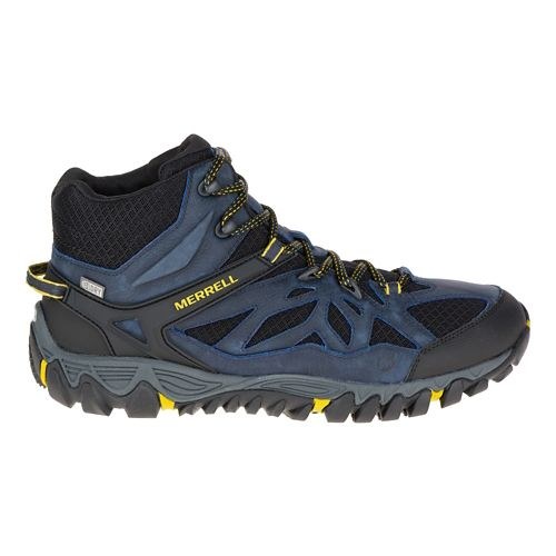 Mens Merrell All Out Blaze Vent Mid Waterproof Hiking Shoe - Sodalite 9