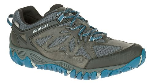 Mens Merrell All Out Blaze Vent Waterproof Hiking Shoe - Grey 7