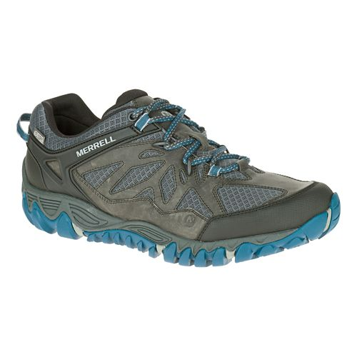 Mens Merrell All Out Blaze Vent Waterproof Hiking Shoe - Grey 10.5