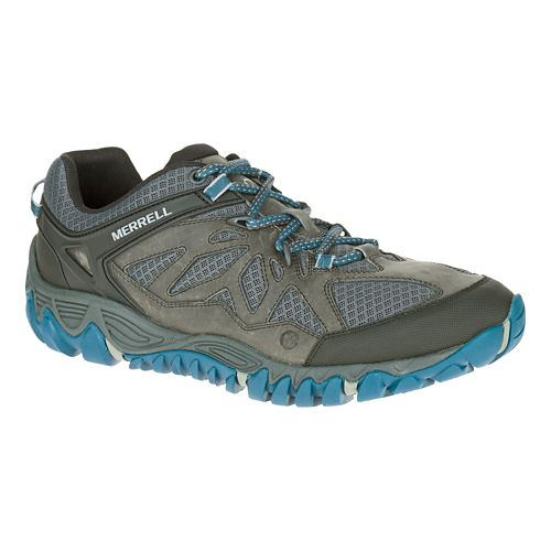 Mens Merrell All Out Blaze Vent Hiking Shoe - Grey 8.5
