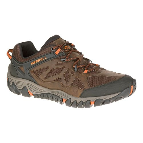 Mens Merrell All Out Blaze Vent Hiking Shoe - Burnt Maple 9.5
