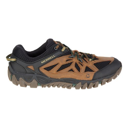 Mens Merrell All Out Blaze Vent Hiking Shoe - Merrell Tan 12