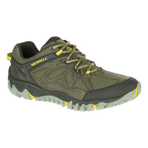 Mens Merrell All Out Blaze Vent Hiking Shoe - Olive 8.5