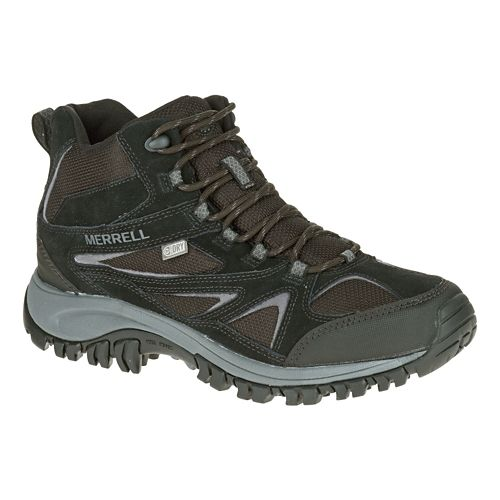Mens Merrell Phoenix Bluff Mid Waterproof Hiking Shoe - Black 7.5