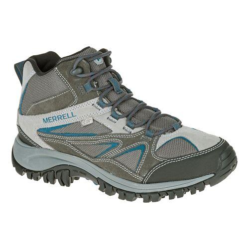 Mens Merrell Phoenix Bluff Mid Waterproof Hiking Shoe - Grey 10.5