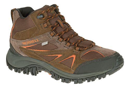 Mens Merrell Phoenix Bluff Mid Waterproof Hiking Shoe - Dark Brown 7.5