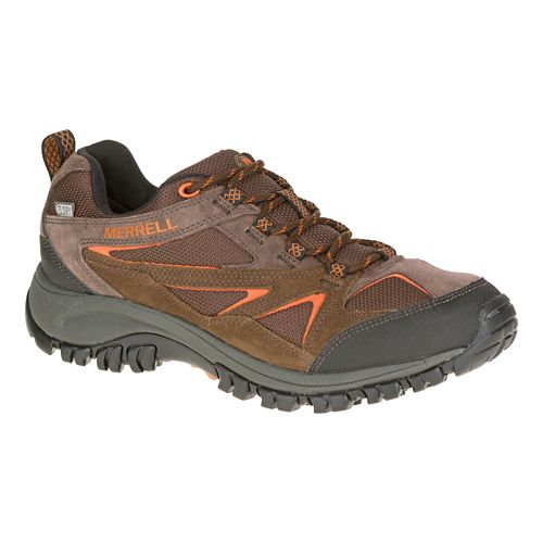 Mens Merrell Phoenix Bluff Waterproof Hiking Shoe - Dark Brown 9