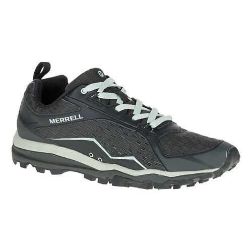 Mens Merrell All Out Crush Trail Running Shoe - Black 7.5