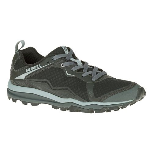 Mens Merrell All Out Crush Light Trail Running Shoe - Black 9.5