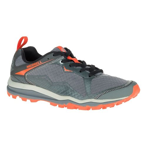 Mens Merrell All Out Crush Light Trail Running Shoe - Grey 8