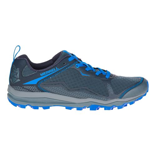 Mens Merrell All Out Crush Light Trail Running Shoe - Dark Slate 14