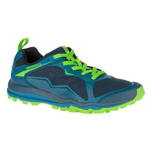 Mens Merrell All Out Crush Light Trail Running Shoe - Bright Green 13