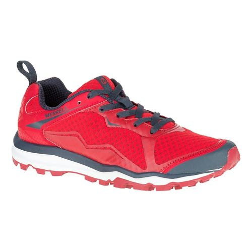Mens Merrell All Out Crush Light Trail Running Shoe - Red 10.5