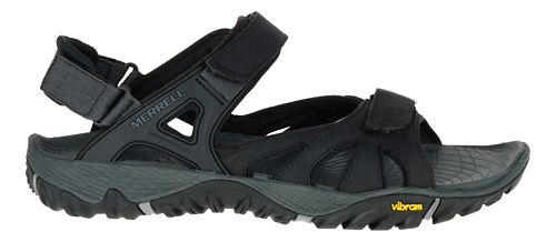Mens Merrell All Out Blaze Sieve Convertible Hiking Shoe - Black 11