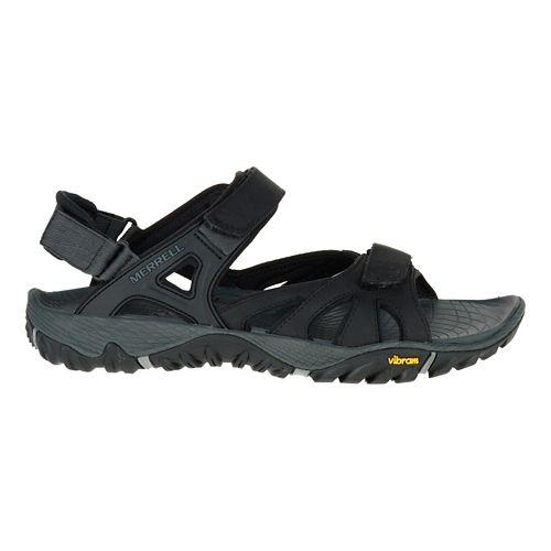Mens Merrell All Out Blaze Sieve Convertible Hiking Shoe - Black 12