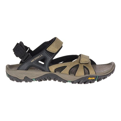 Mens Merrell All Out Blaze Sieve Convertible Hiking Shoe - Stucco 8