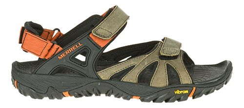 Mens Merrell All Out Blaze Sieve Convertible Hiking Shoe - Black 12