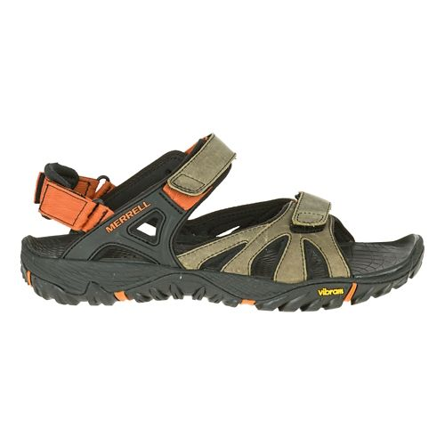 Mens Merrell All Out Blaze Sieve Convertible Hiking Shoe - Light Brown 8