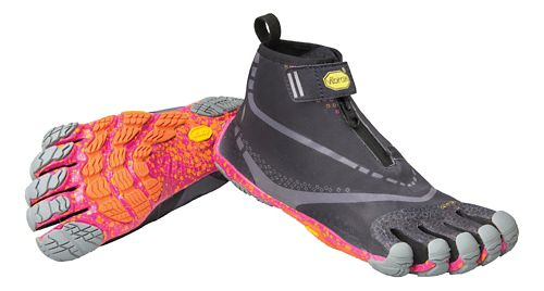 Womens Vibram FiveFingers Bikila EVO WP Running Shoe - Black/Grey/Purple 37