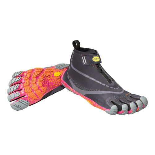 Womens Vibram FiveFingers Bikila EVO WP Running Shoe - Black/Grey/Purple 38