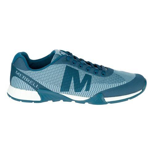 Mens Merrell Versent Casual Shoe - Legion Blue 10