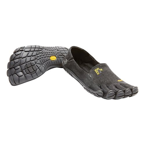Womens Vibram FiveFingers CVT-Hemp Casual Shoe - Black 36