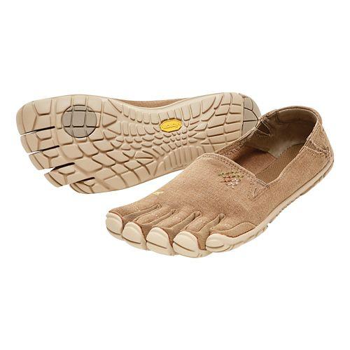 Womens Vibram FiveFingers CVT-Hemp Casual Shoe - Beige 36