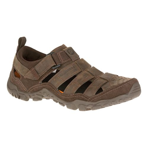 Mens Merrell Telluride Wrap Casual Shoe - Clay 10
