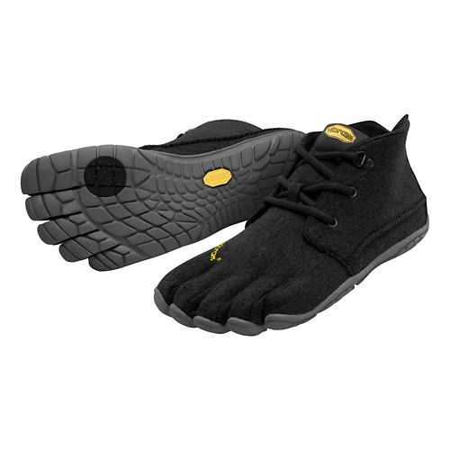 Womens Vibram FiveFingers CVT-Wool Casual Shoe - Black/Grey 37