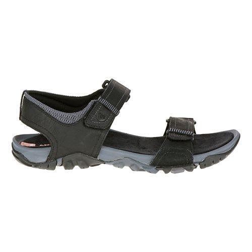 Mens Merrell Telluride Strap Sandals Shoe - Black 11
