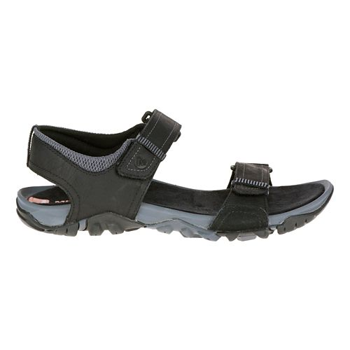 Mens Merrell Telluride Strap Sandals Shoe - Black 15