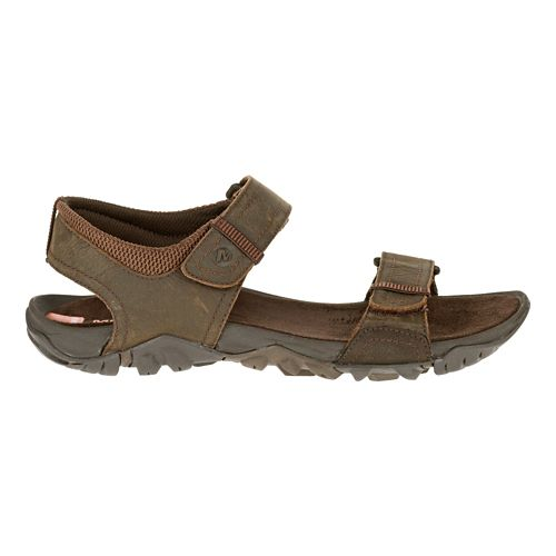 Mens Merrell Telluride Strap Sandals Shoe - Clay 10