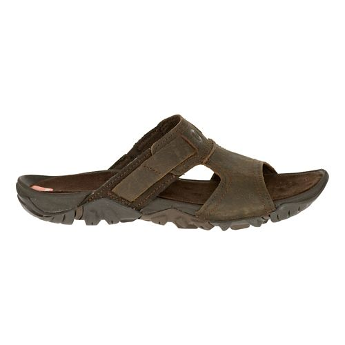 Mens Merrell Telluride Slide Sandals Shoe - Clay 14
