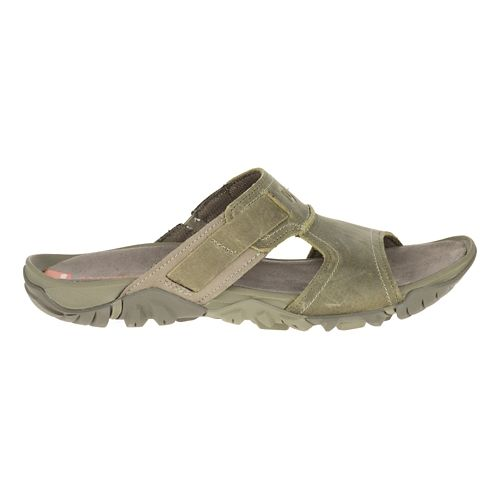 Mens Merrell Telluride Slide Sandals Shoe - Stucco 11