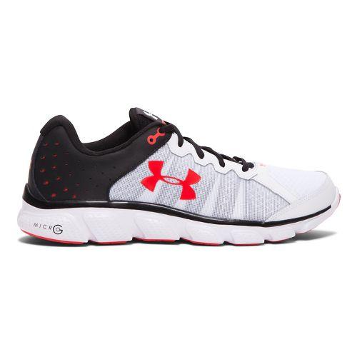 Mens Under Armour Micro G Assert 6  Running Shoe - White 9.5