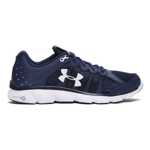 Mens Under Armour Micro G Assert 6 Running Shoe - Midnight Navy 9.5
