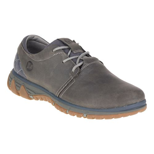 Mens Merrell All Out Blazer Lace Casual Shoe - Pewter 10
