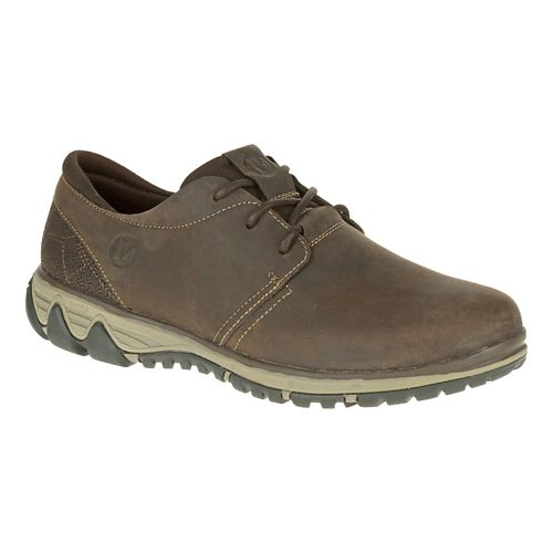 Mens Merrell All Out Blazer Lace Casual Shoe - Clay 7.5