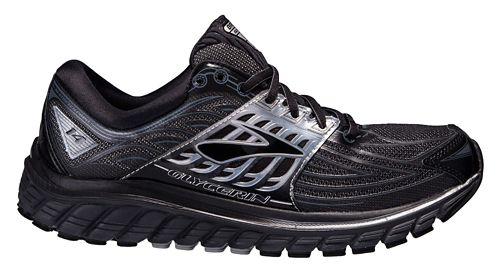 Mens Brooks Glycerin 14 Running Shoe - Black/Silver 8