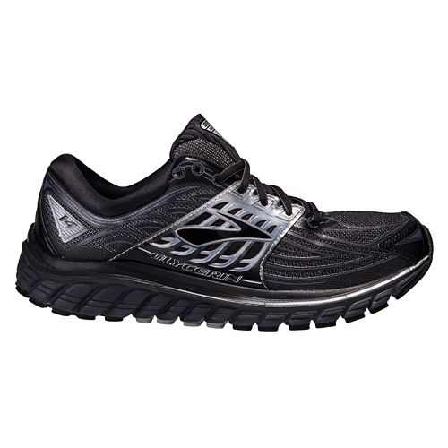 Mens Brooks Glycerin 14 Running Shoe - Black/Silver 10.5