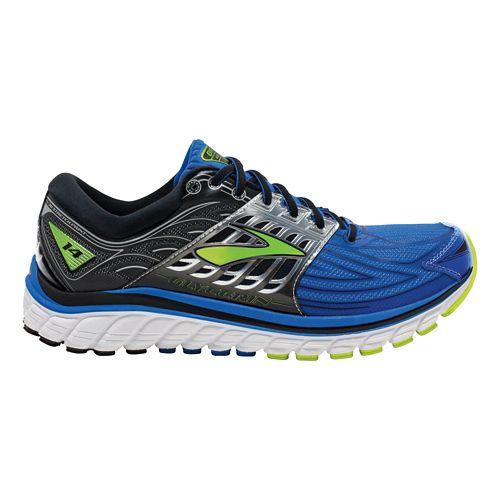 Mens Brooks Glycerin 14 Running Shoe - Blue/Black 9.5