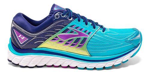 Womens Brooks Glycerin 14 Running Shoe - Scuba Blue/Navy Blue 7
