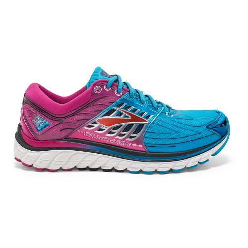 Womens Brooks Glycerin 14 Running Shoe - Dresden Blue 7