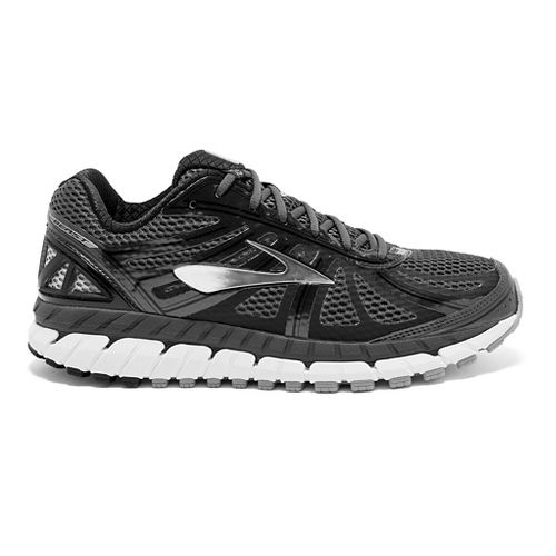Mens Brooks Beast 16 Running Shoe - Anthracite/Black 8.5